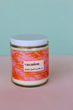 Ginger June Candle Co. - Vacation Candle