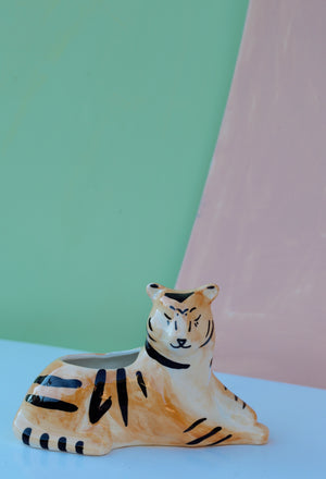 Untamed Tiger Planter