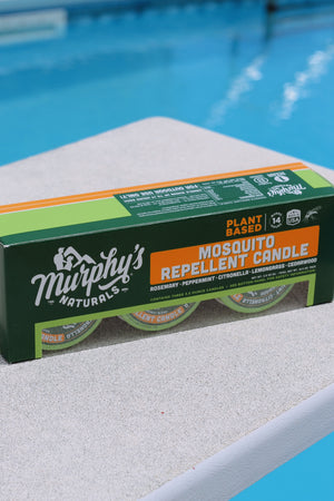 Murphy's Naturals | 3-pack Mosquito Repellent Citronella Candles