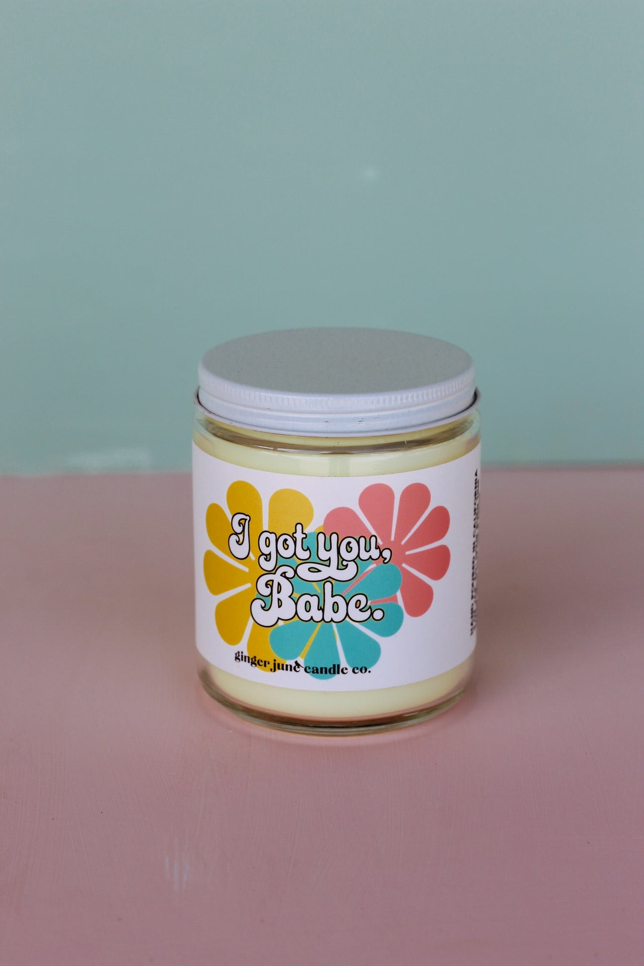 "Ginger June Candle Co. - ""I Got You Babe"" Candle"