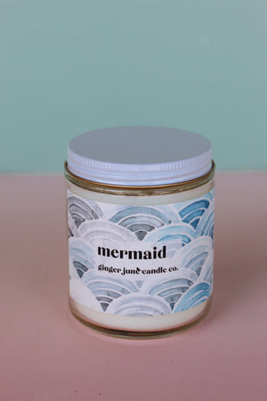 Ginger June Candle Co. - Mermaid Candle
