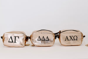 Small Sorority Makeup Bags