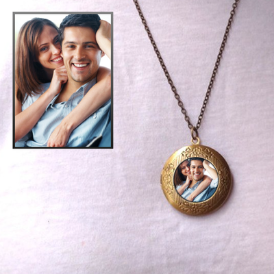 Premium Locket With Custom Photo