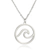 Cresting Wave Necklace