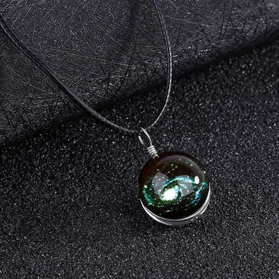 View Into The Galaxy™ Glow-In-The-Dark Pendant