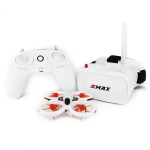 Emax EZ Pilot Beginner Indoor FPV Racing Drone With 600TVL CMOS Camera 37CH 25mW RC Quadcopter RTF - One Battery