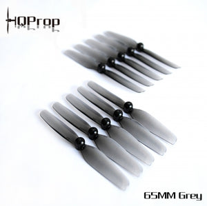 HQ Micro Prop 65MM (5CW+5CCW)-Poly Carbonate-1.5MM Shaft