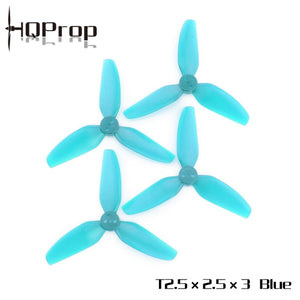 HQ Durable Prop T2.5X2.5X3 (2CW+2CCW)-Poly Carbonate