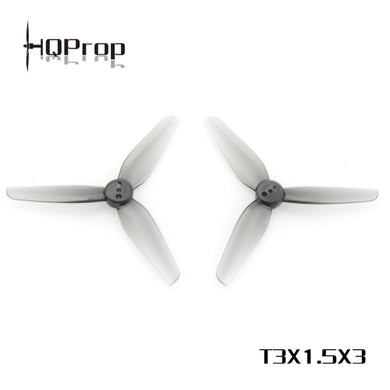 HQ Durable Prop T3X1.5X3 Grey (2CW+2CCW)-Poly Carbonate