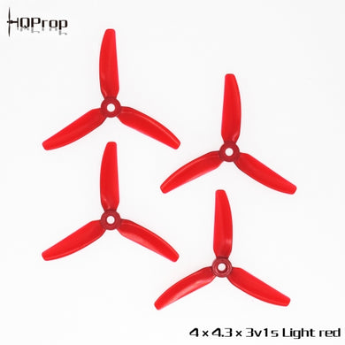 HQ Durable Prop 4X4.3X3V1S (2CW+2CCW)-Poly Carbonate