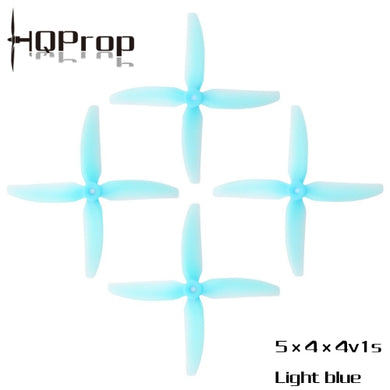 HQ Durable Prop 5X4X4V1S (2CW+2CCW)-Poly Carbonate