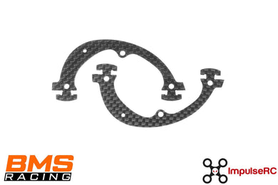 BMSRACING JS-1 CAGE PLATE CF 1.5MM (2 PACK)