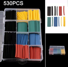 530 Piece Heatshrink Assortment with case