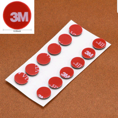 1cm 3M double sided tape dots (Pack of 10)