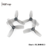 HQProp Duct-T63MMX3 Light Grey (2CW+2CCW)-Poly Carbonate