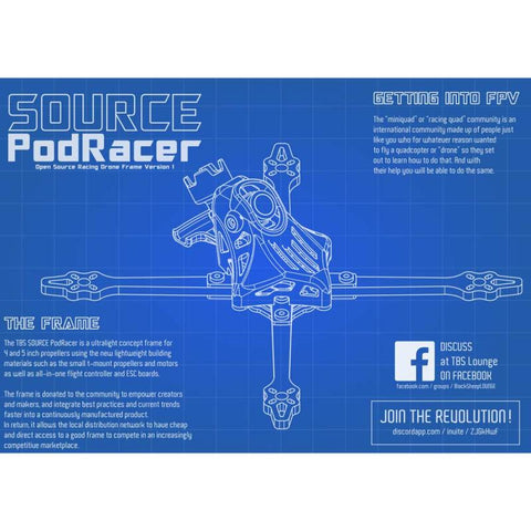 TBS SOURCE PODRACER 5""