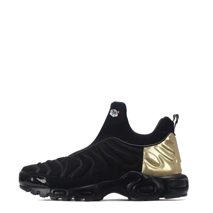 big discount cost charm latest discount Nike Air Max Plus Slip Women's Trainers, Black/Gold
