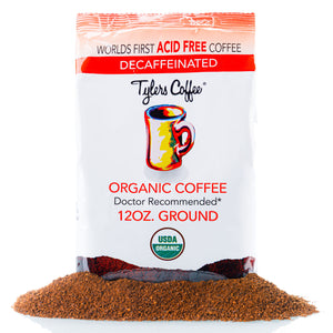 Decaf Ground (12oz Bag) - TylersCoffee