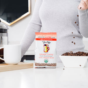 Decaf Whole Bean (12oz Bag) - TylersCoffee
