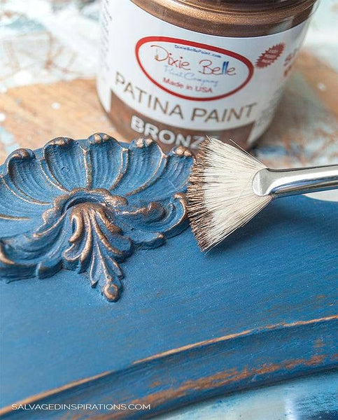 Dixie Belle Patina Paint Iron Copper Bronze 8 oz