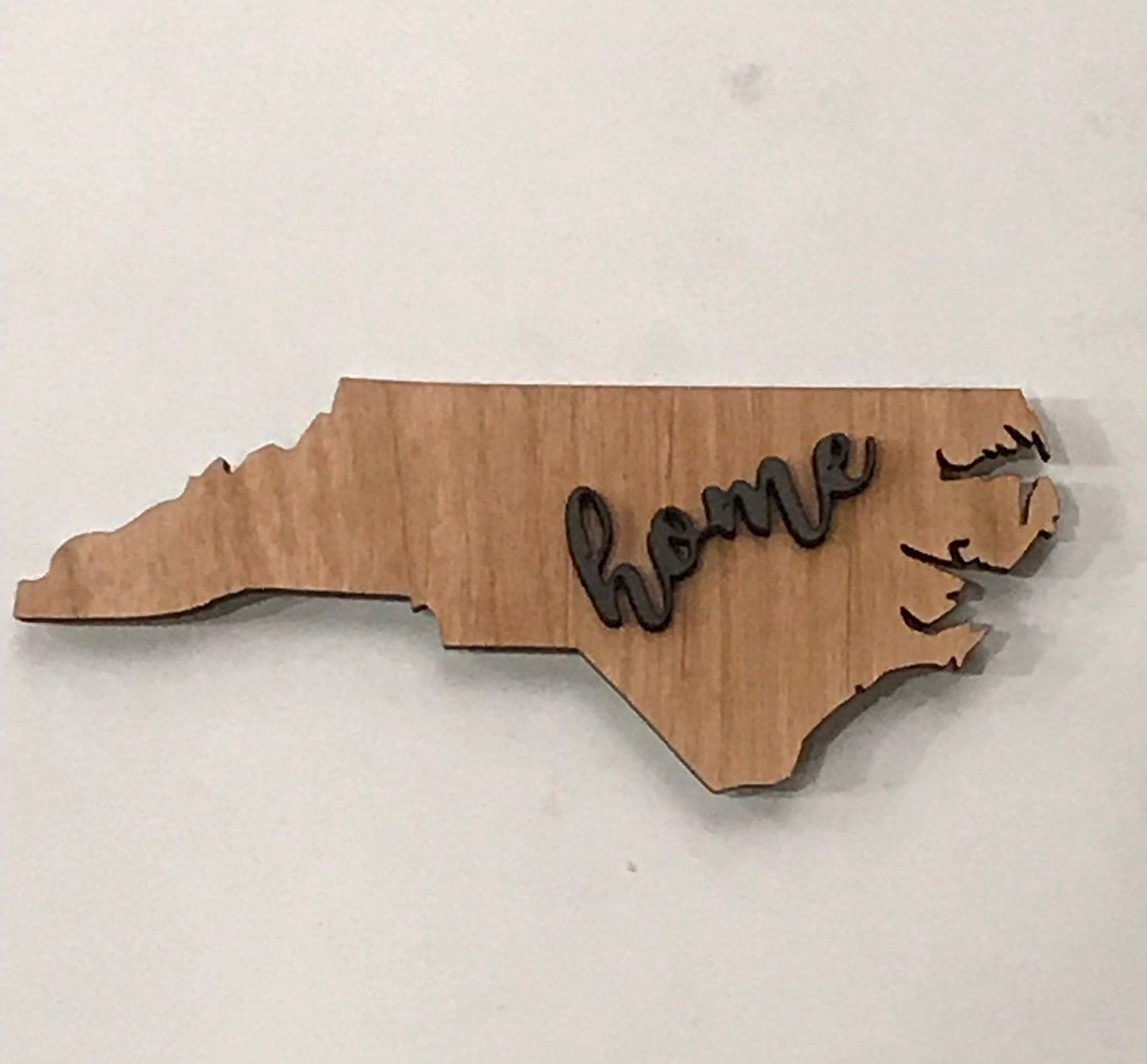 "North Carolina Wood Sign - Engraving Option -  22"" x 8 1/2"""