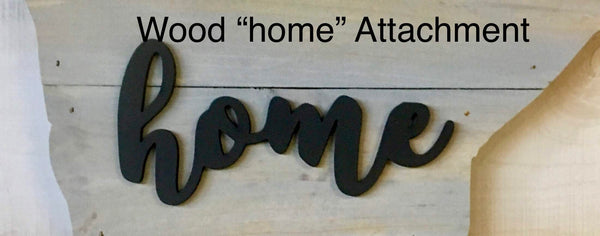 "New Jersey Wood Sign - Engraving Option - 10.5"" x 20"""
