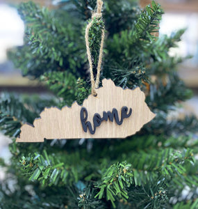 Kentucky State Christmas Ornament - Great Ornament Exchange Idea - Keepsake Gift - Christmas Decoration