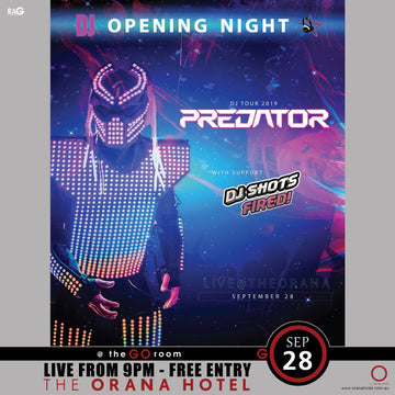 Predator & DJ Shots Fired - 28th of September