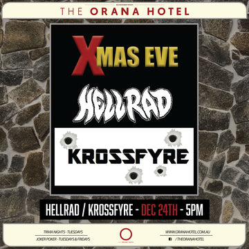 Hellrad and Krossfyre Xmas Eve Party - 24th of December