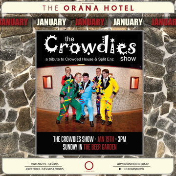 The Crowdies Show - 19th of January