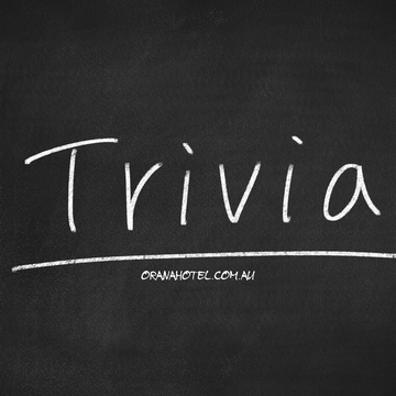 Orana Nights - Trivia Night