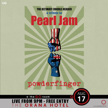 Pearl Jam Powderfinger Double Header