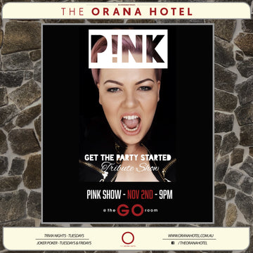 P!nk Show - 2nd of November