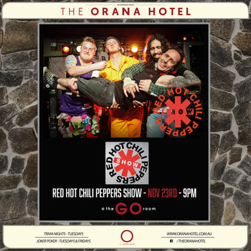 Red Hot Chili Peppers Show - 23rd of November