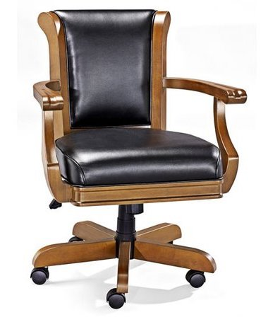 Brunswick Centennial Game Table Chair - Chestnut