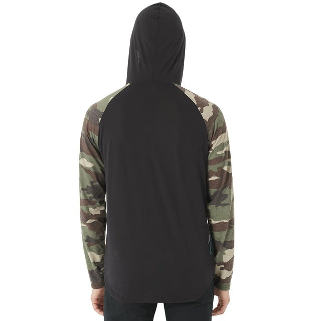 Oakley Lakeside LS Hooded Knit - Blackout
