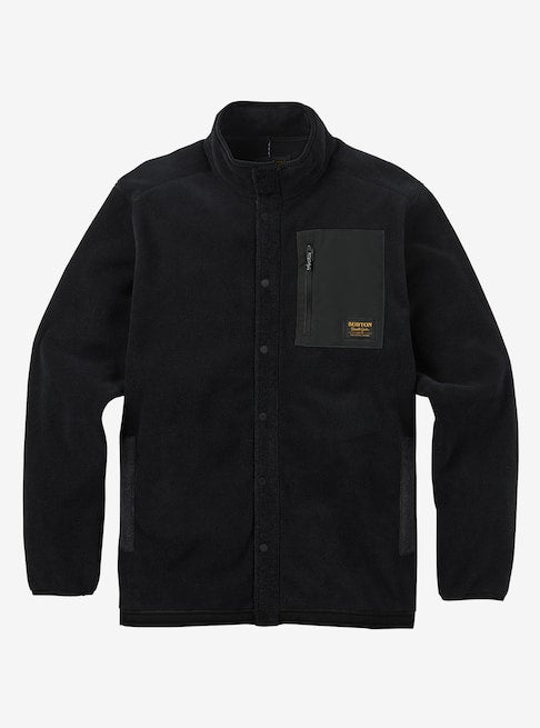 Men's Burton Hearth Snap-Up Fleece