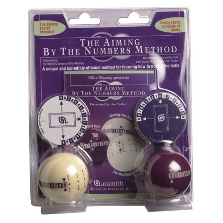 Aramith Aiming by Numbers Training Balls