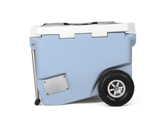 60 Quart RollR with Wagon Bin: Narwhale Blue