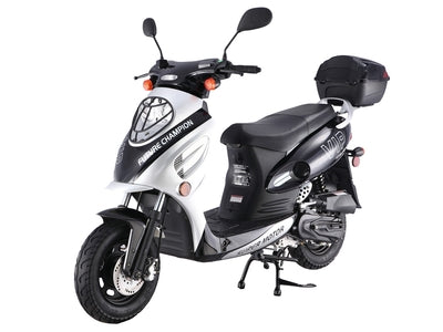 CY50A Black - 50cc Scooter