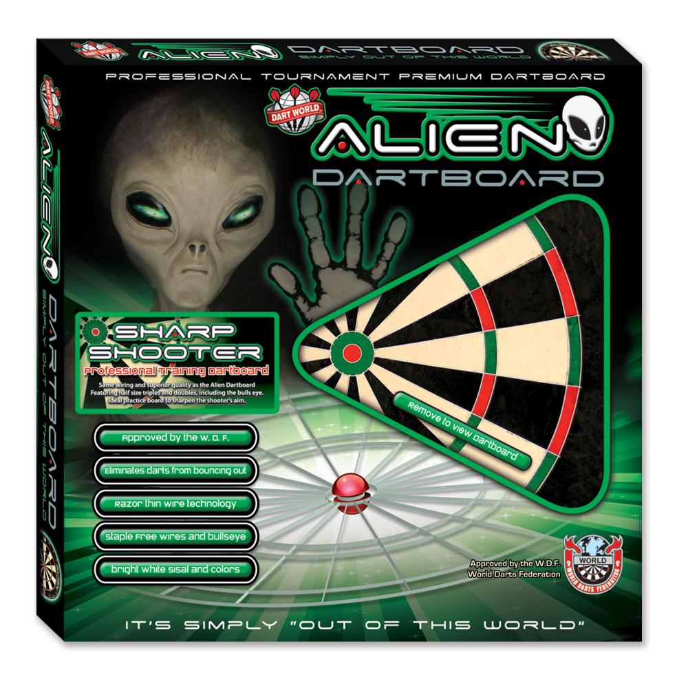 Alien Dartboard Bristle