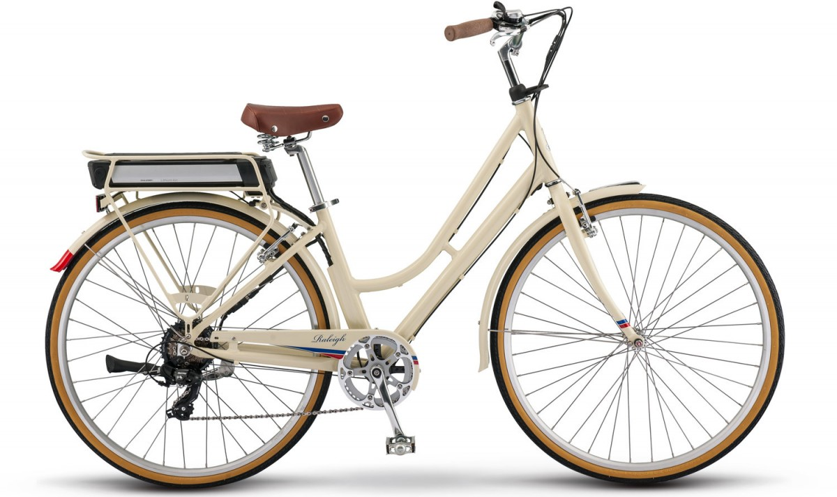 RALEIGH SUPERBE IE STEP THRU ELECTRIC BIKE