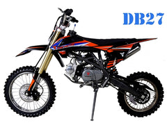 DB27 Black - Dirt Bike