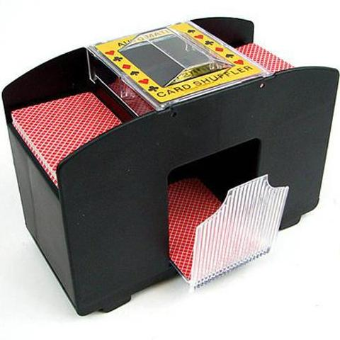 Fat Cat Casino Deluxe Automatic 4 Deck Card Shuffler