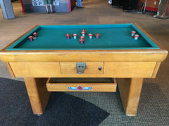 Antique Valley Bumper Pool Table