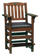 Brunswick Centennial Player's Chair - Chestnut