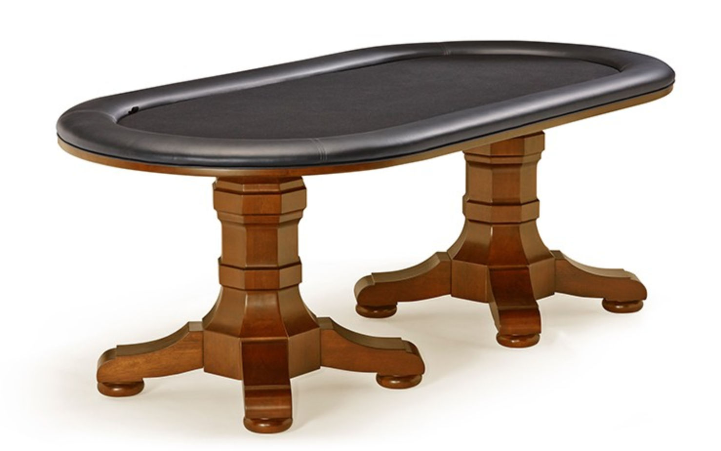 Brunswick Heritage Texas Hold'Em Table - Chestnut