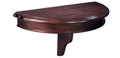 Brunswick Colonial Pub Shelf - Half Round