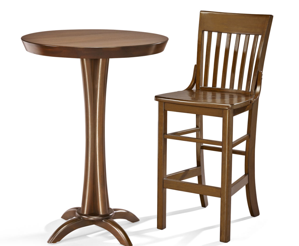 Brunswick Pub Table & Two (2) Pub Stool Package
