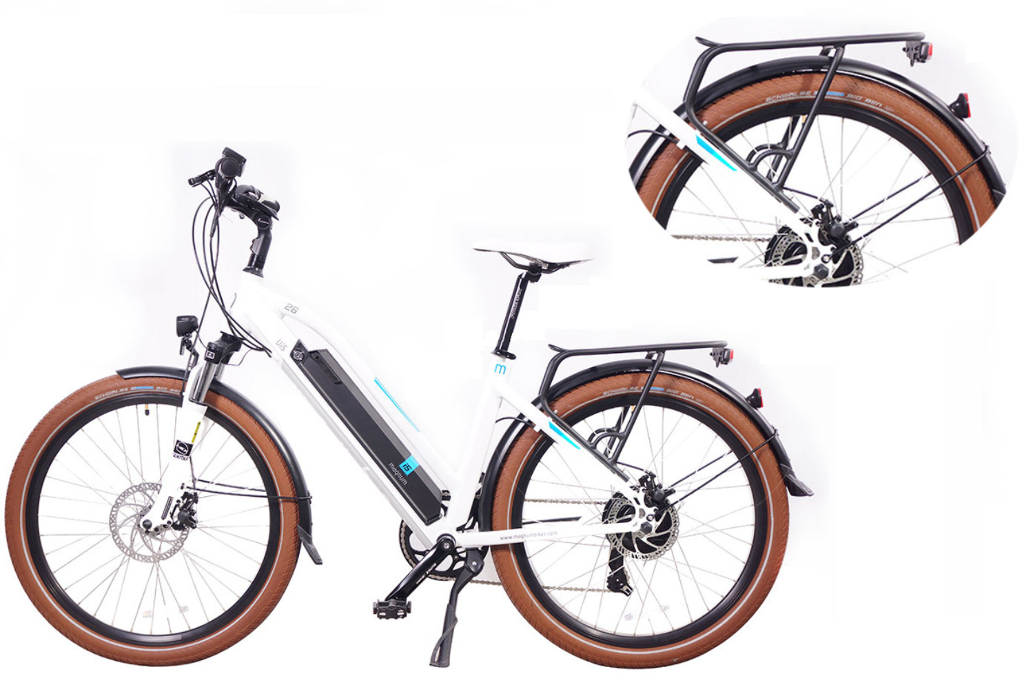 Rear Rack for the Magnum Peak, Magnum Ui5 and Magnum Mi5 E-Bikes